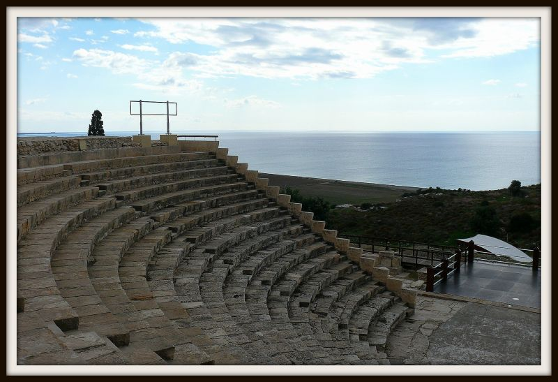 The ancient city of Kourion