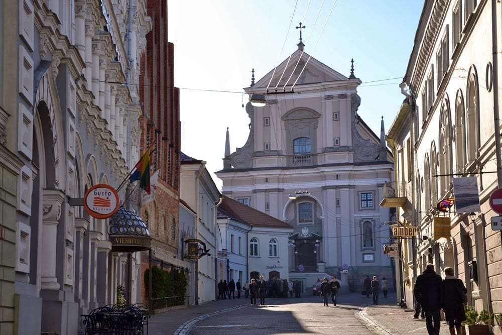 Old Town in Vilnius in pictures