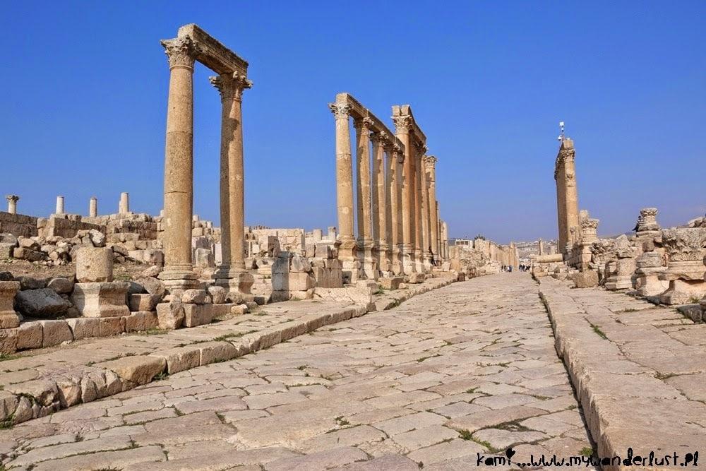 Ruins in Jerash, Jordan in pictures