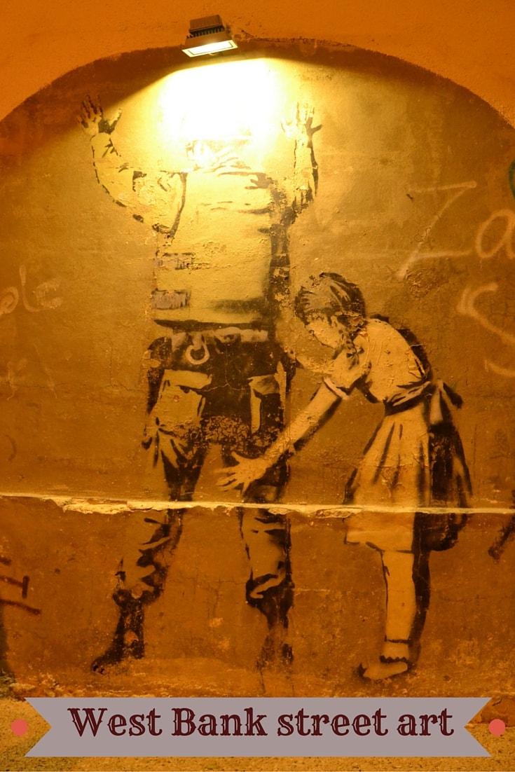 west bank street art pin (2)
