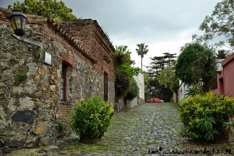 Rainy Colonia del Sacramento, Uruguay in pictures