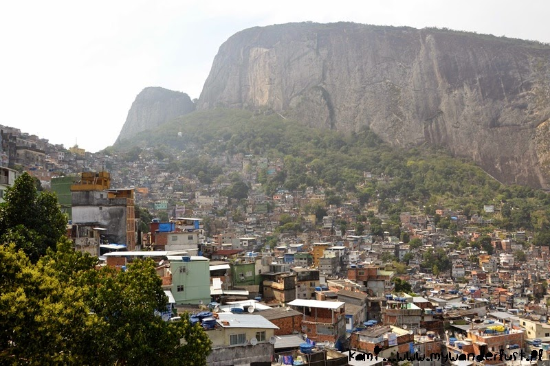 Favelas in Rio – an inseparable part of the city's scenery
