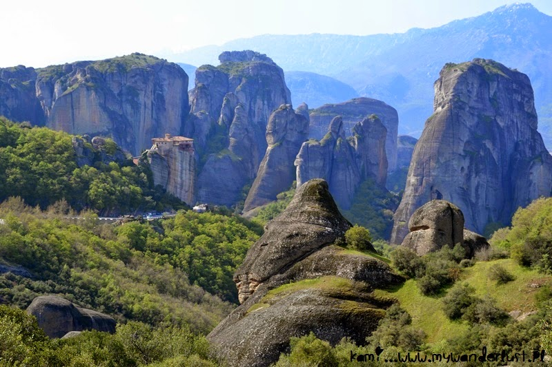 Sunday with Pictures: monasteries in Meteora