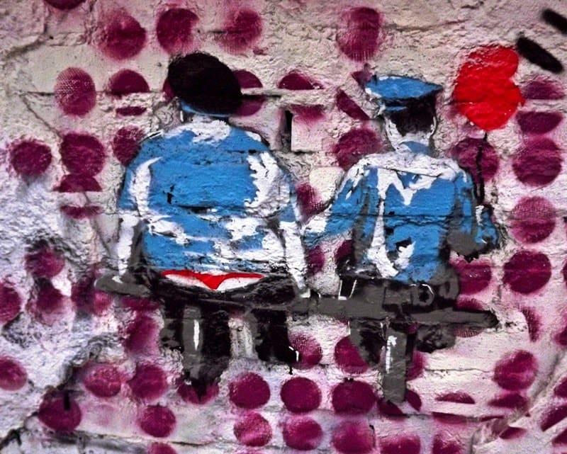 street art in Bucharest