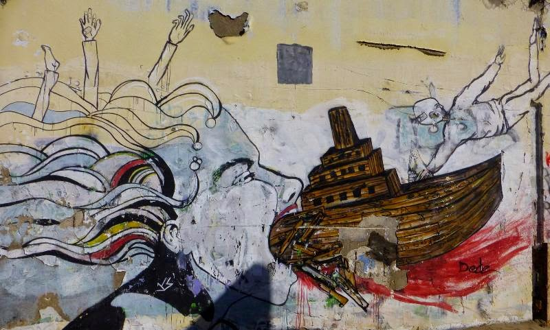 street art in Tel Aviv