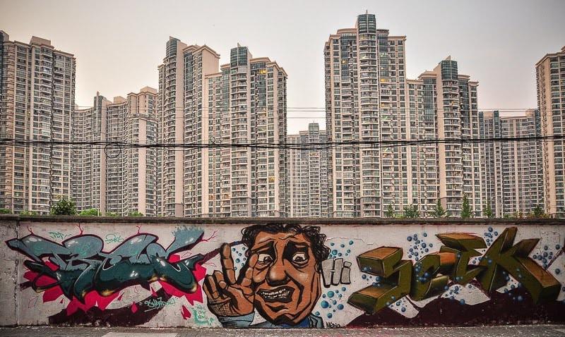 street art in Shanghai
