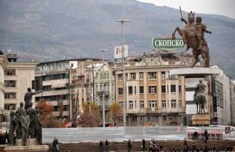 Macedonia: Skopje monuments in pictures