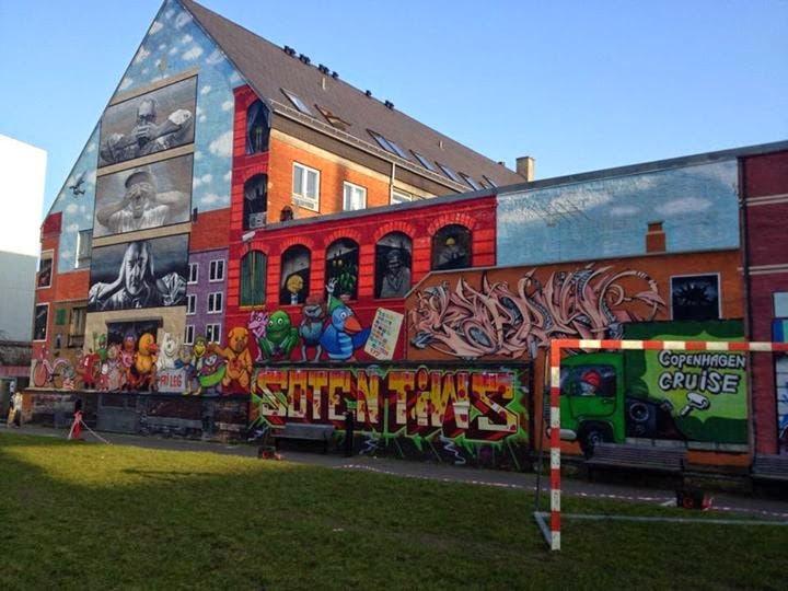 street art in Copenhagen
