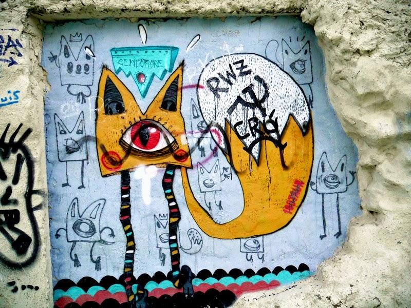 street art in Zaragoza