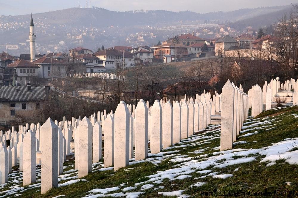Sarajevo hills