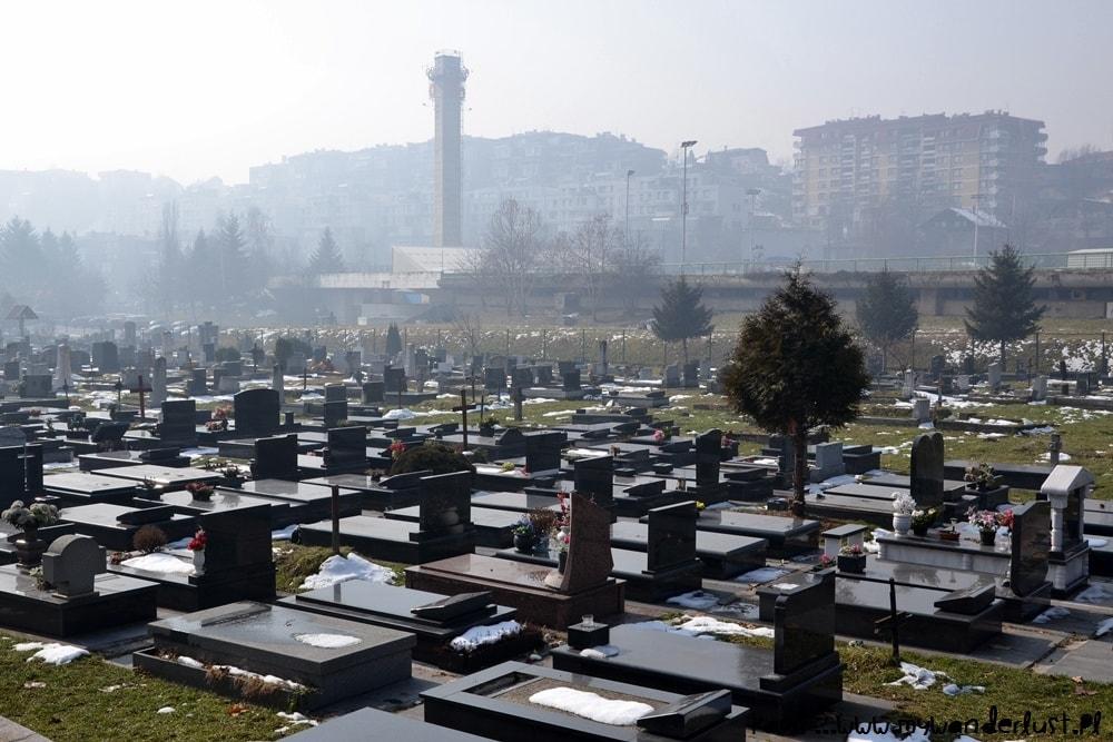 Sarajevo olympics cemetery
