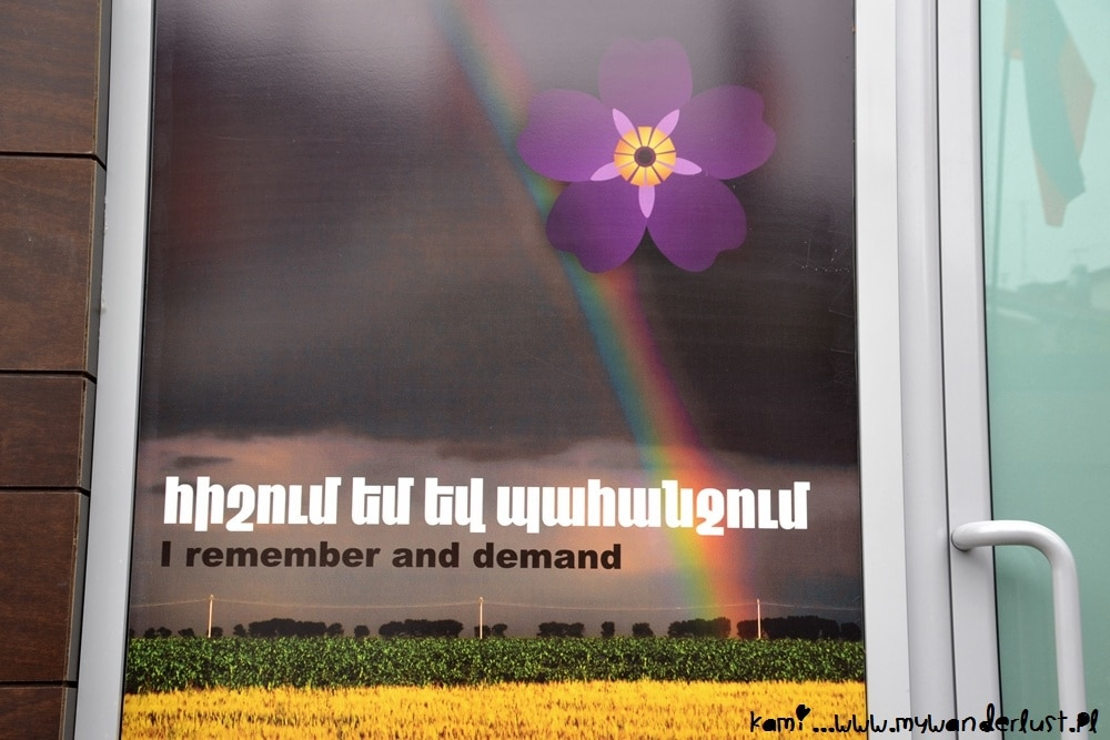 symbol of centennial of the armenian genocide