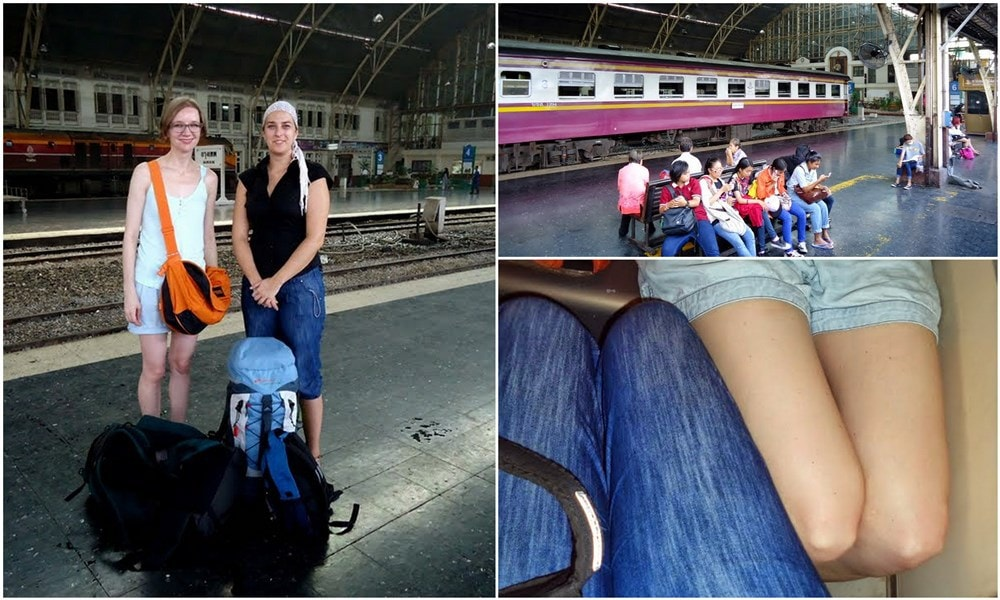 train travels in Thailand