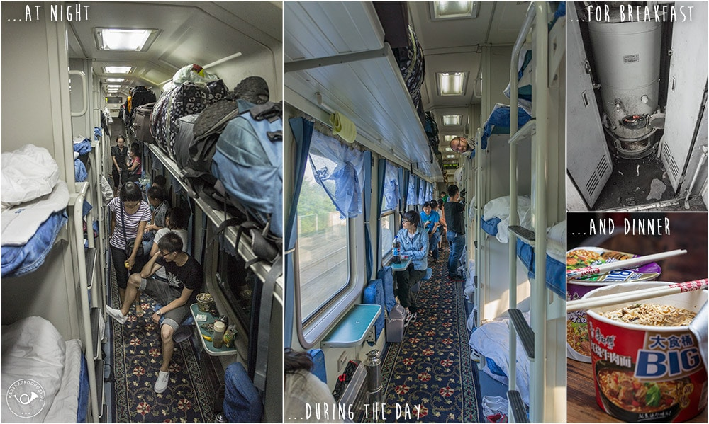 train travels in China
