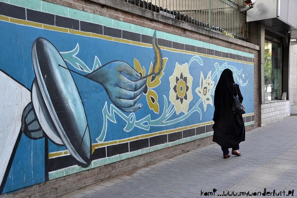 Tehran street scene
