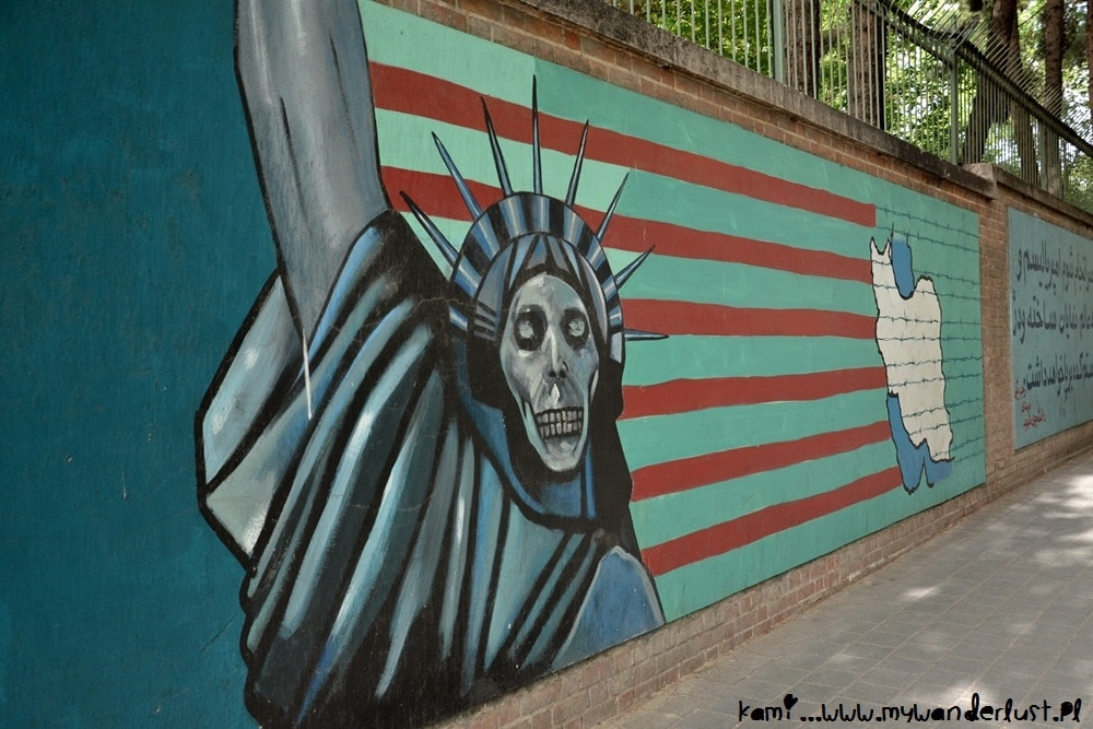 Things to do in Tehran - US embassy