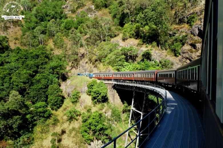 Kuranda Railway Where is Juli