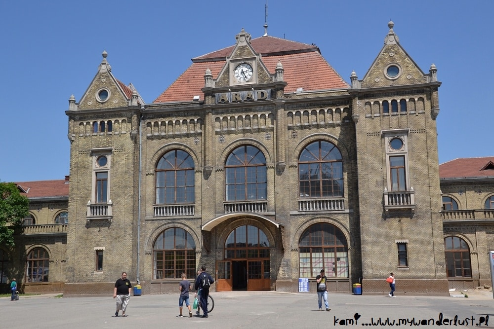 Arad train station
