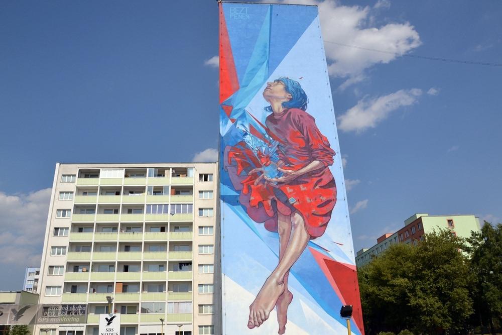 Kosice street art Bezt & Pener