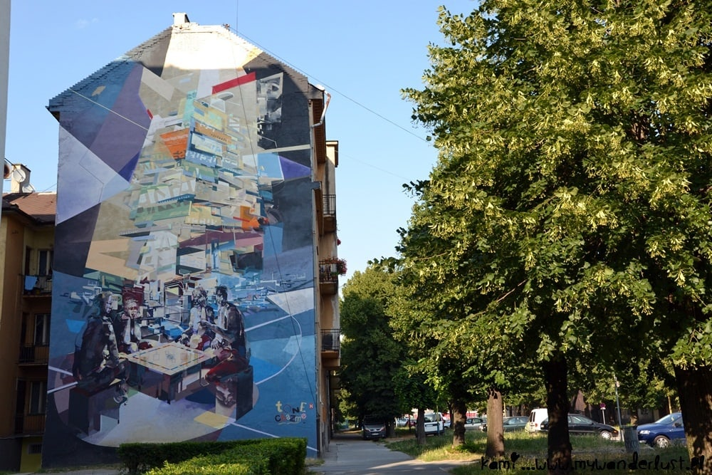 Kosice street art Chazme Tone