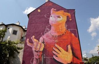 Kosice street art – an urban gallery in Slovakia