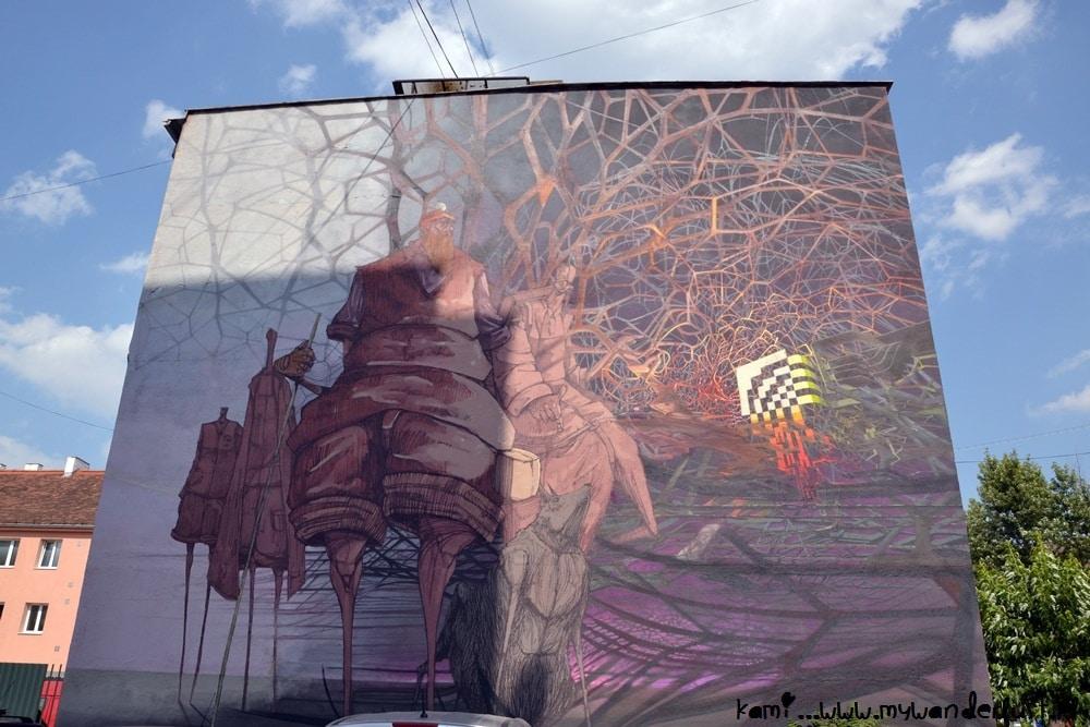 Kosice street art sepe roem