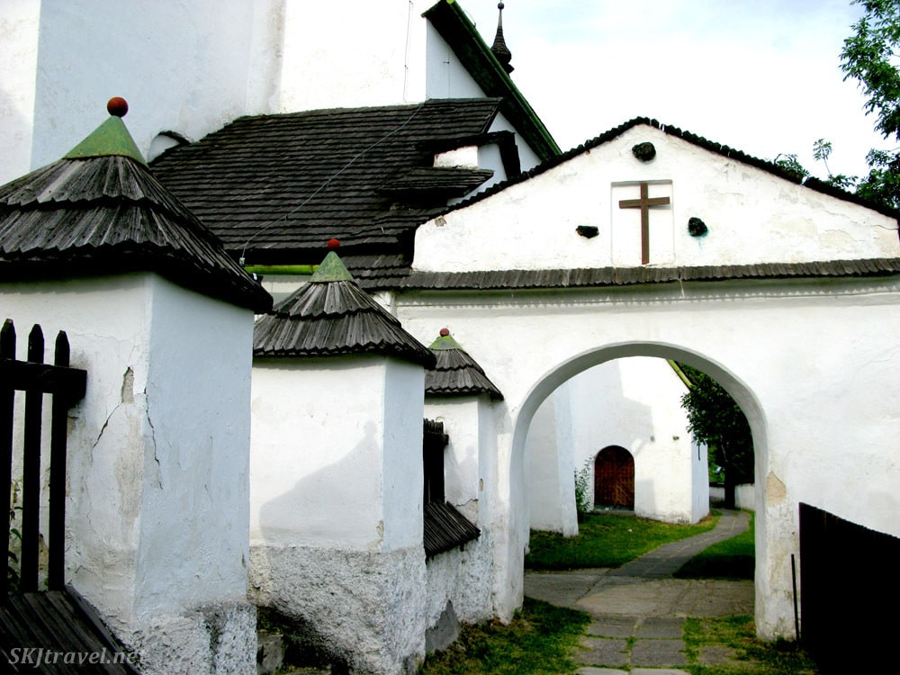 Church of Conversion of the Lord, Spania Dolina