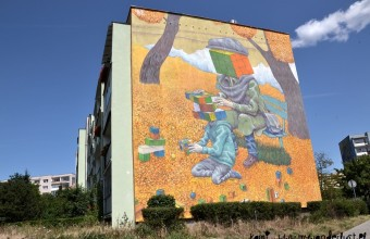 Gdansk street art – the biggest urban gallery in Poland