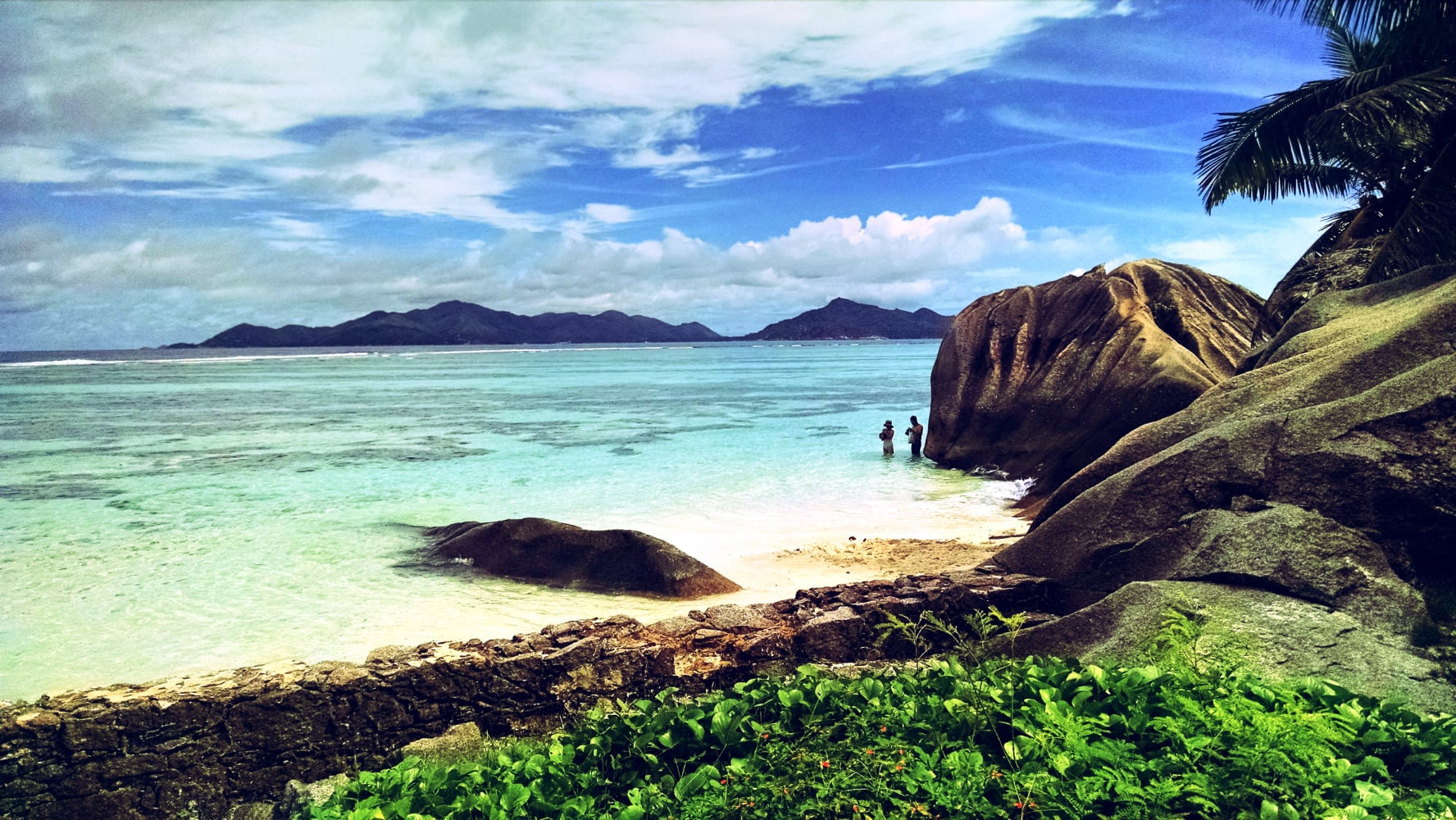 Anse Source d'Argent Beach — La Digue