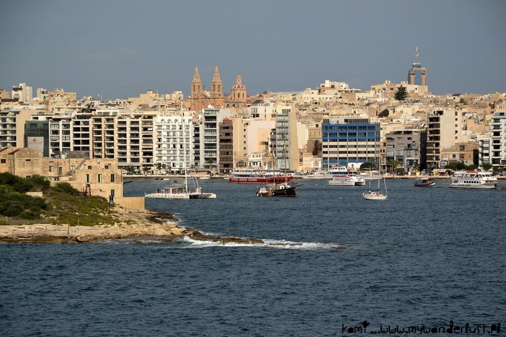 5 days in Malta - itinerary, Sliema