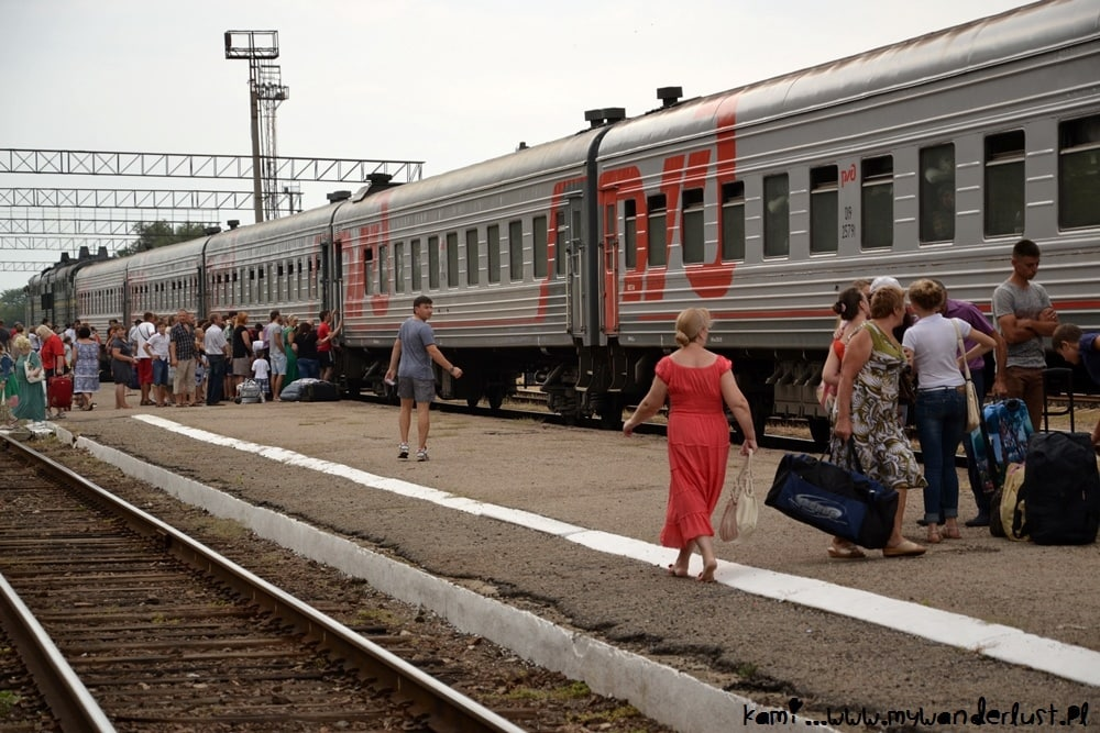 train in Tiraspol