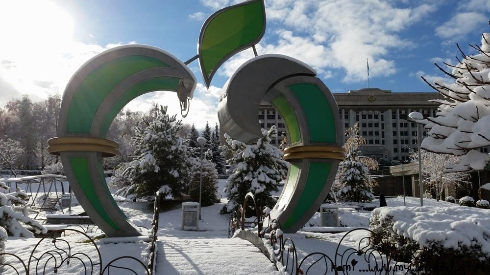 Almaty Kazakhstan winter