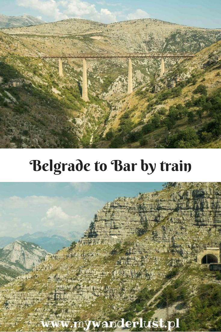 Belgrade to Bar train