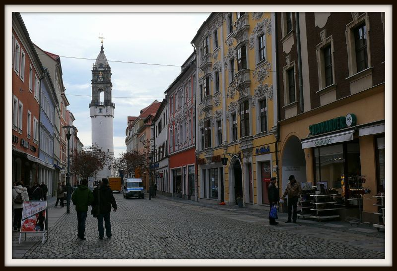 Strolling down the streets of Bautzen