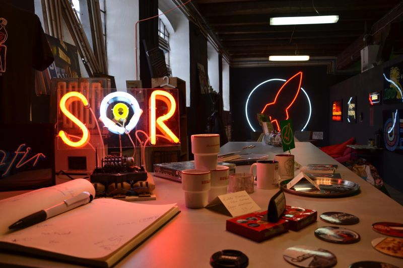 The wonderful, unusual Neon Museum in Warsaw