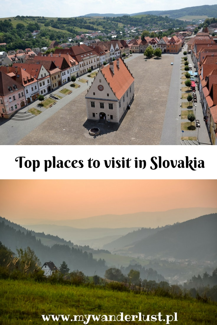Top places to visit in Slovakia