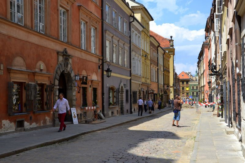 Warsaw Old Town in pictures