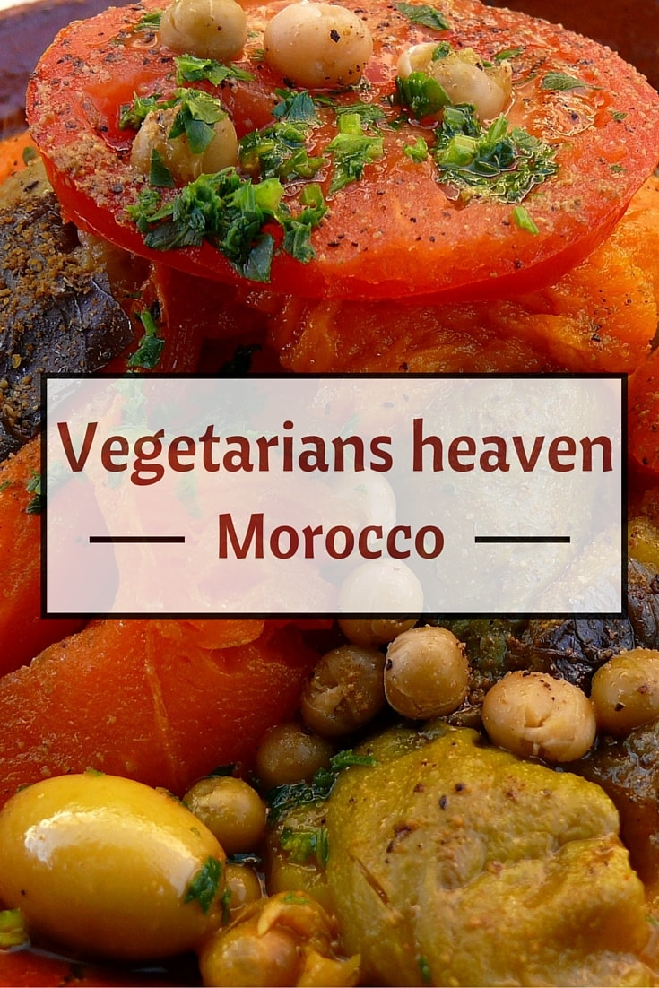 vegetarian morocco pin