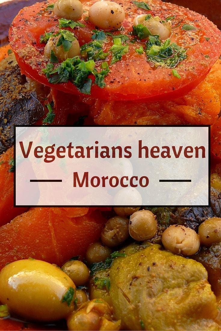 vegetarian morocco pin