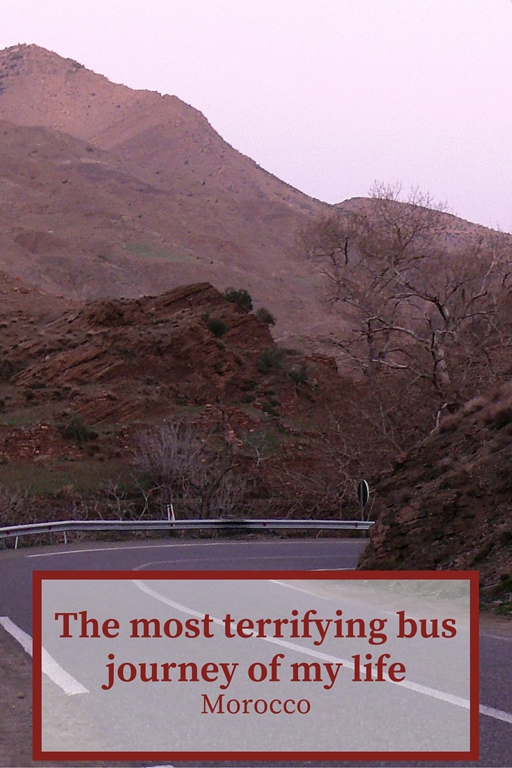 The most terrifying bus journey