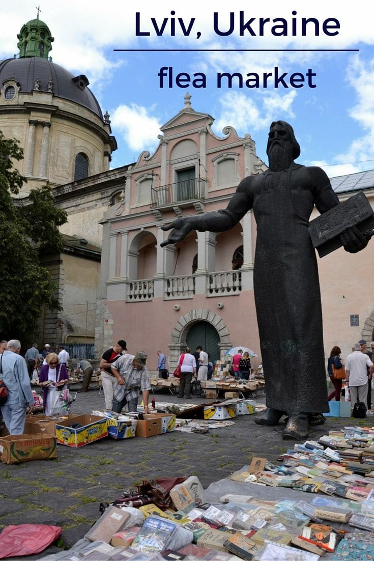 Lviv flea market pin
