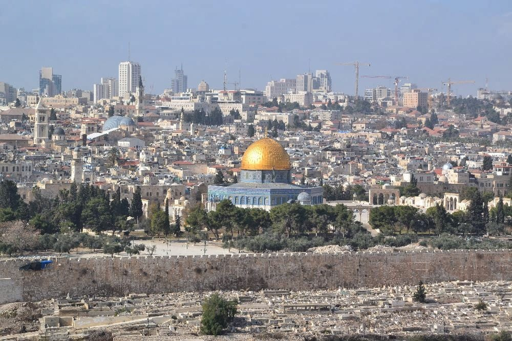 Old City of Jerusalem – where religions and cultures collide