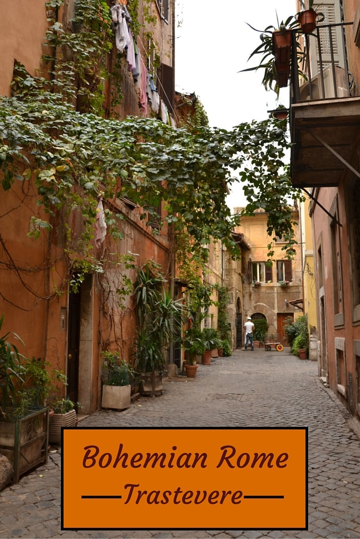 Rome Trastevere pictures