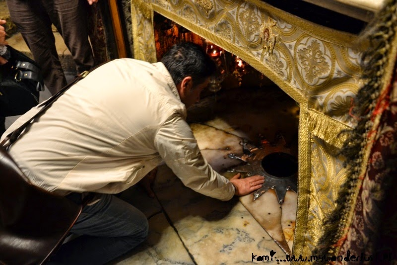 Bethlehem where Jesus was born