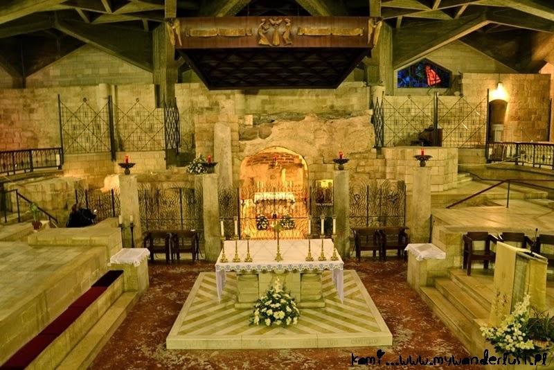 grotto in Nazareth