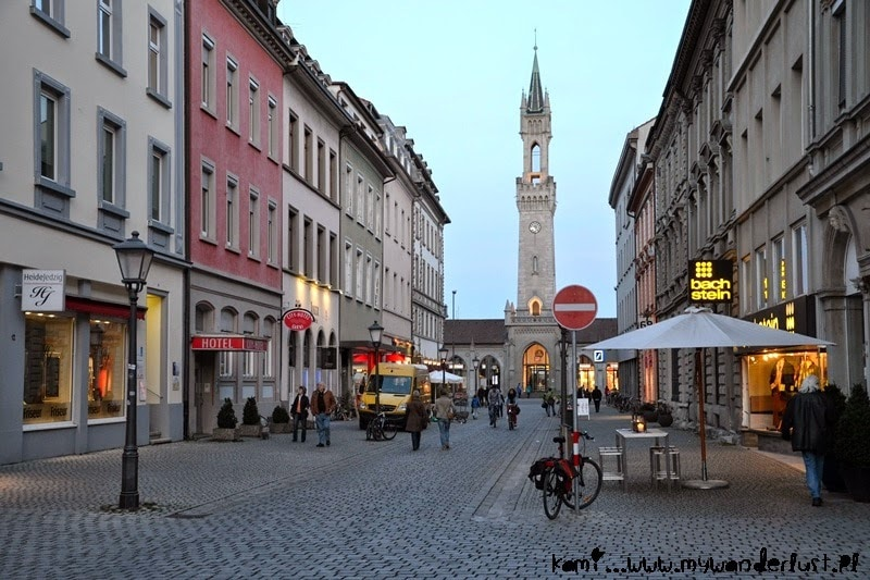 In pictures: evening in Konstanz, Germany