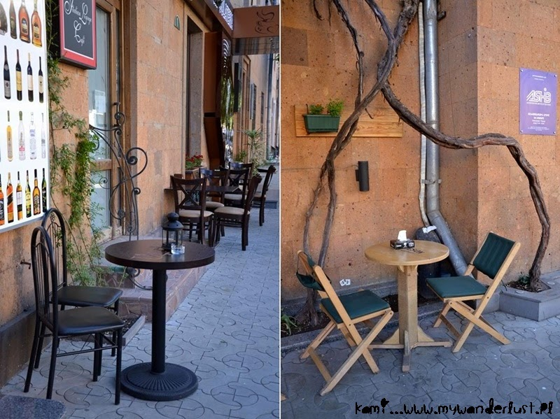 cafe in Yerevan