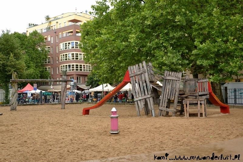 playground in Prenzlauer Berg