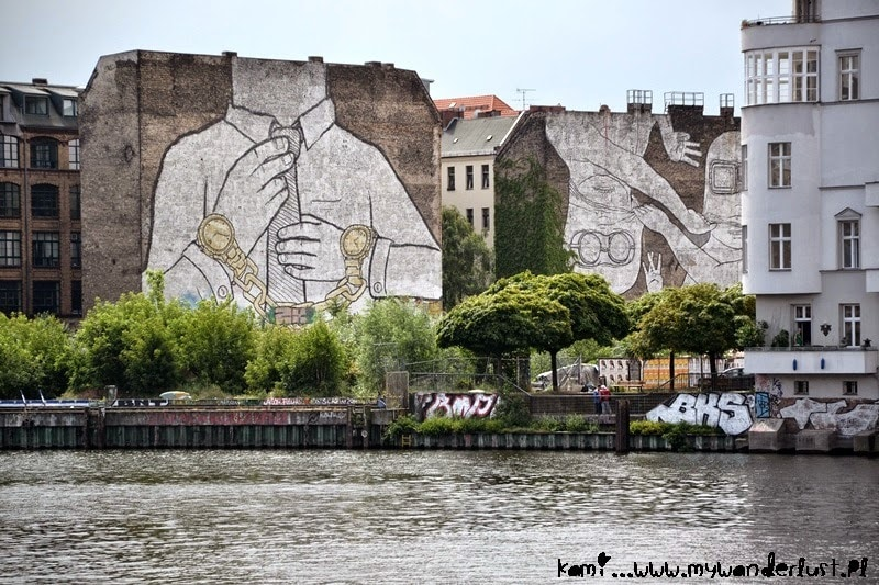 BLU street art Berlin