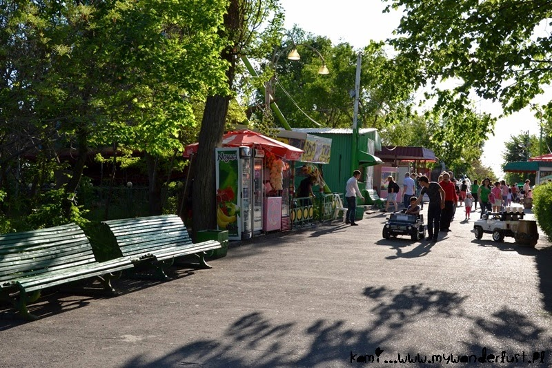 Visit Yerevan park in Yerevan